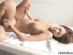 Pussy and ass of Asian packed to the limits