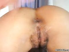Girl in turns deeply sucks and fucks big member