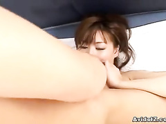 Very hard cock gives real pleasure to Asian gf