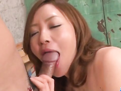 Black stockings girl moans from deep pussy drill