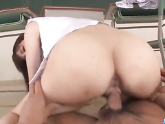 College girl seduces with the view of hot pussy