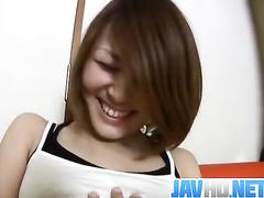 Girl enjoys licking, masturbation and sucking