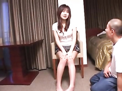 Cutie Japanese babe gets seduced by boyfriend for hot fuck