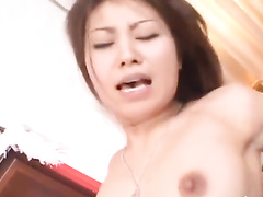 Two naughty Asian fuckers are exciting one hot chick