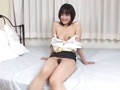 Asian cutie gets fondled and hotly masturbated