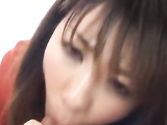 Exciting sexy Japanese chick is being drilled with vibrator