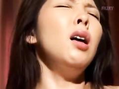 Beautiful Japanese milf gets seduced while sleeping