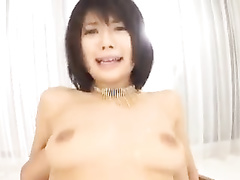 Asian babe enjoys cunnilingus before having hardcore