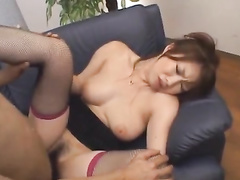 Japanese nurse gets undressed and pleasantly fucked
