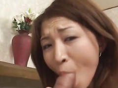 Busty Asian cutie gets fingered and fucked by two guys