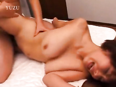 Hot Asian chick is pleasuring hardcore fuck with hungry fucker