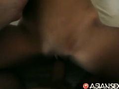 Pretty young Philippine girl gets waked up in drunkenness and fucked up hard